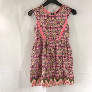Sequin Hearts Girls Pink Dress Size 12